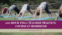 200 Hour Yoga TTC in Rishikesh, India