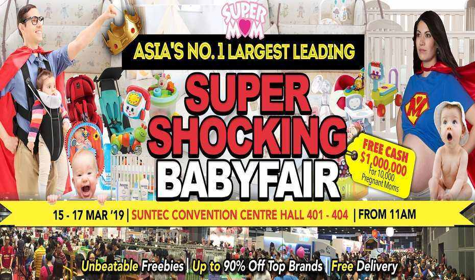 Asia's No.1 Largest Leading Super Shocking Babyfair, Singapore, Central, Singapore