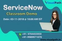 ServiceNow Online Training   ServiceNow Training