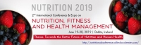 2nd International Conference & Expo on Nutrition, Fitness and Health Management