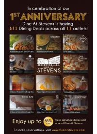 Dine At Stevens $11 Dining Deals (55% off!)