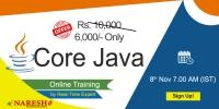 Best Core java Online Training in USA - NareshIT