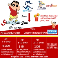 Shinchan Run For Kids | Entryeticket