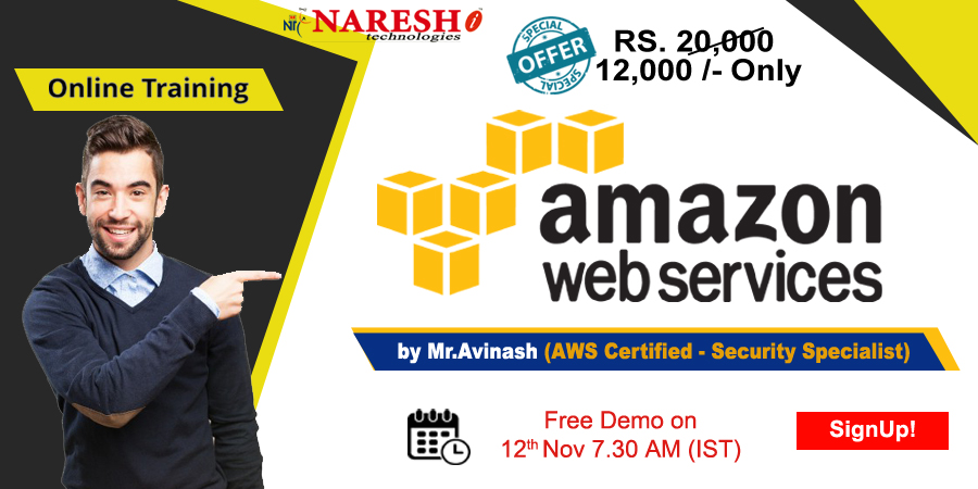 Best AWS Online Training in USA - NareshIT, Dallas, Texas, United States