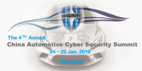 The 4th Annual China Automotive Cyber Security Summit 2019