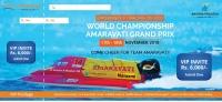 Join us at the Formula 1 Powerboat Racing World Championship in Amaravati