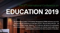 The 5th International Conference on Education 2019