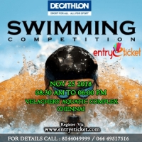 State Level Swimming Competition in Chennai | Entryeticket