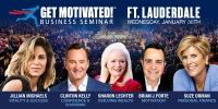 Suze Orman, Jillian Michaels and Clinton Kelly LIVE Ft Lauderdale