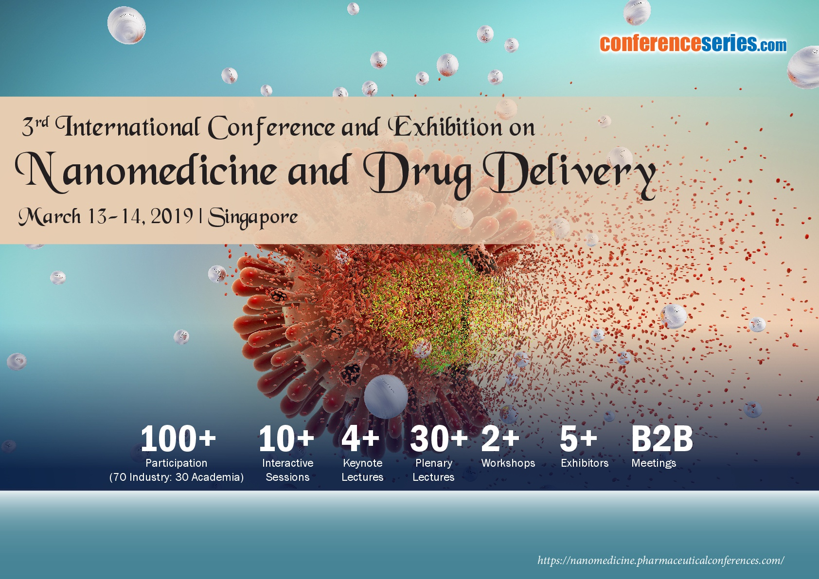 3rd International Conference and Exhibition on  Nanomedicine and Drug Delivery, Singapore, South East, Singapore