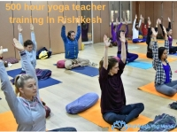 500 hour yoga teacher training in Rishikesh, India