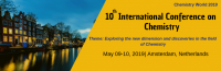 10th International Conference on Chemistry