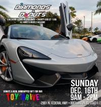 Diamonds & Donuts Car Show & Toy Drive