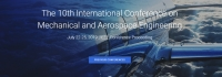 2019 the 10th International Conference on Mechanical and Aerospace Engineering (ICMAE 2019)