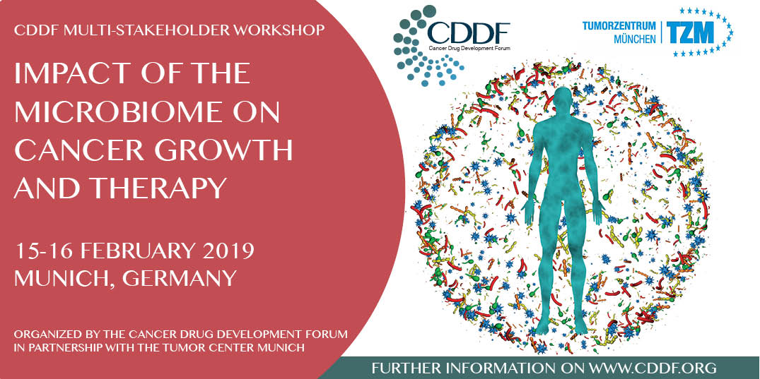CDDF multi-Stakeholder workshop on Impact of the Microbiome on Cancer Growth and Therapy, Munich, Bayern, Germany