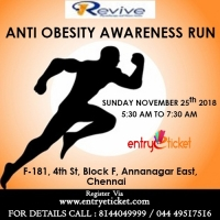 Revive Anti Obesity Awareness Run | Entryeticket