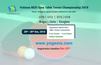YoGems NCR Open Table Tennis Championship 2018
