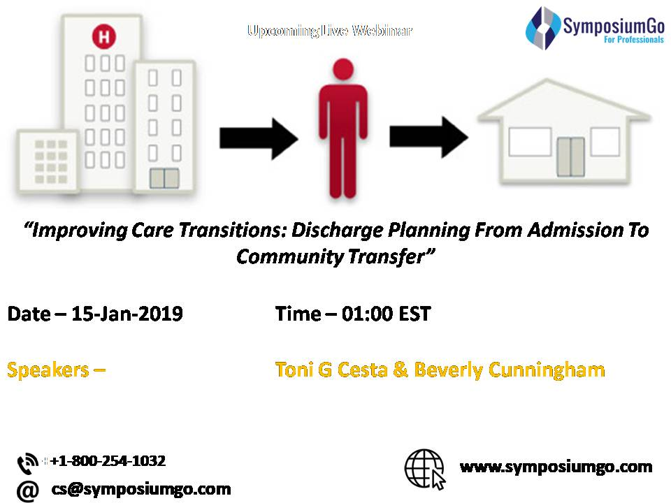 Improving Care Transitions: Discharge Planning From Admission To Community Transfer, New York, United States