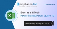 Power Pivot and Power Query 101 [BI tool] 2019