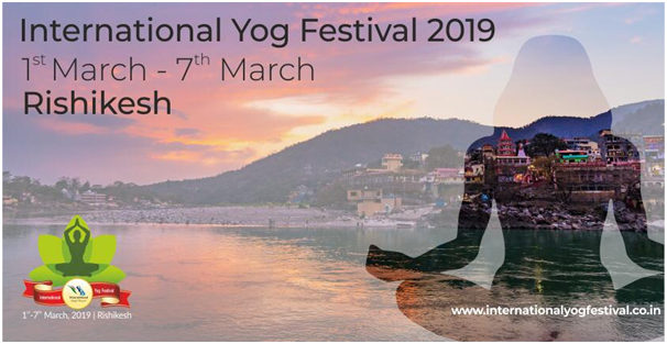International Yog Festival 2019, Dehradun, Uttarakhand, India