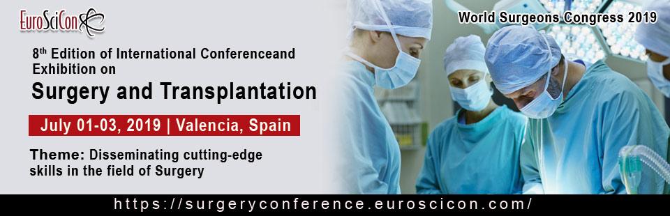 WORLD SURGEONS CONGRESS 2019, Valencia, Spain