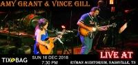 Buy Amy Grant & Vince Gill Tickets on Tixbag, Sun 16 12 2018, Nashville,TN