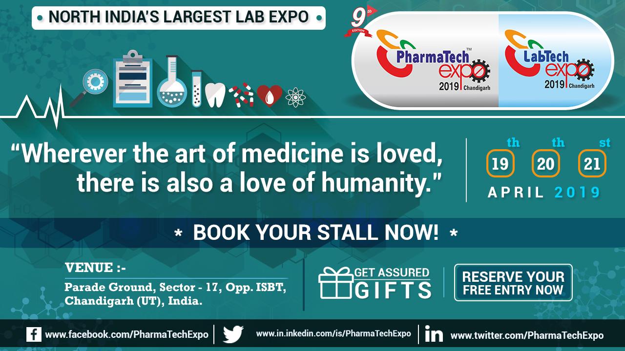 PharmaTech Expo, Chandigarh, India
