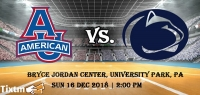 Penn State Lady Lions vs. American University Eagles [WOMEN] Tickets, Bryce Jordan Center - University Park - PA, Sun 16 Dec 2018 at 02:00 PM
