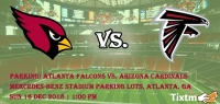 PARKING: Atlanta Falcons vs. Arizona Cardinals Tickets, Mercedes-Benz Stadium Parking Lots - Atlanta - GA, Sun 16 Dec 2018 at 01:00 PM