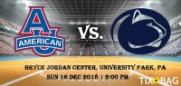 Buy Penn State Lady Lions vs. American University Eagles [WOMEN] Tickets on Tixbag, Sun 16 12 2018, University Park,PA
