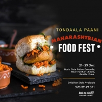 Tondaala Paani - Maharashtrian Food Festival @ Pune - BookMyStall