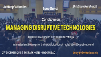 Conclave on 'Managing  Disruptive Technologies'