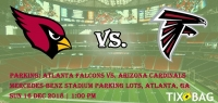 Buy PARKING: Atlanta Falcons vs. Arizona Cardinals Tickets on Tixbag, Sun 16 12 2018, Atlanta,GA