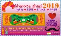 Khamma Ghani - Dil Se Desi New Year 2019 Party At Hotel Savi Regency Jaipur