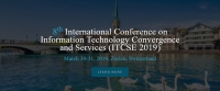 8th International Conference on Information Technology Convergence and Services (ITCSE 2019)