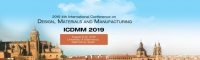 2019 4th International Conference on Design, Materials and Manufacturing(ICDMM 2019)