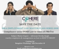 Full Day Workshop on Compliance under POSH Law