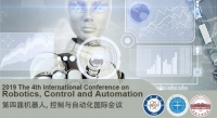 2019 The 4th International Conference on Robotics, Control and Automation (ICRCA 2019)