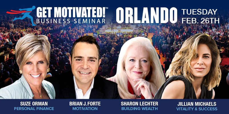 Suze Orman and Jillian Michaels LIVE Orlando, Orange, Florida, United States