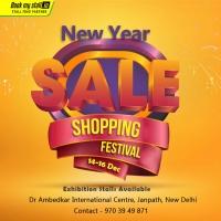 New Year Shopping Festival at Janpath - BookMyStall