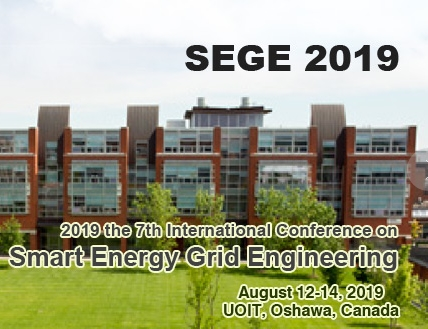 2019 the 7th international conference on Smart Energy Grid Engineering (SEGE 2019), Ontario, Canada