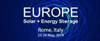 Europe Solar + Energy Storage Congress 2019