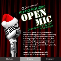 OC Music & Dance OPEN MIC