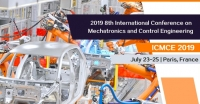 2019 8th International Conference on Mechatronics and Control Engineering (ICMCE 2019)