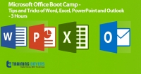 Training On Microsoft Office Boot Camp - Tips and Tricks of Word, Excel, PowerPoint and Outlook - 3 Hours