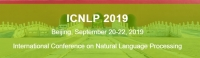 2019 International Conference on Natural Language Processing(ICNLP 2019)