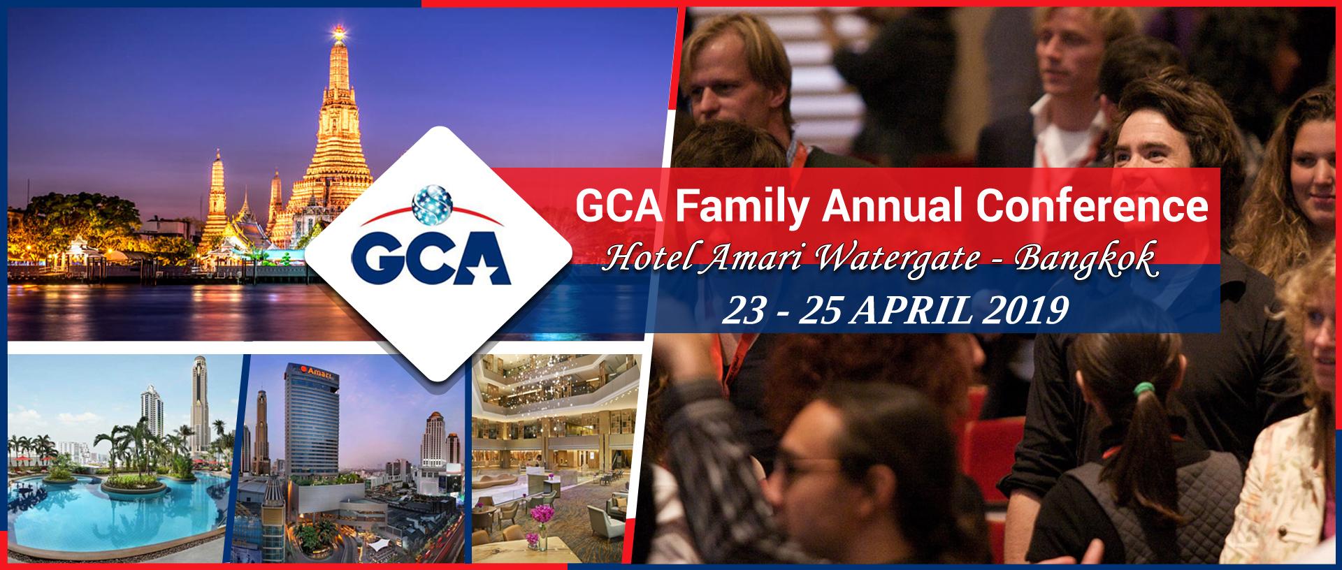 GCA Family Annual Conference 2019, Hotel Amari Watergate, Bangkok, Thailand