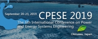 2019 6th International Conference on Power and Energy Systems Engineering (CPESE 2019)