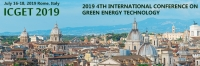 2019 4th International Conference on Green Energy Technology (ICGET 2019)