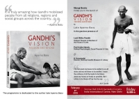 Book Launch - Gandhi's Vision: Freedom and Beyond